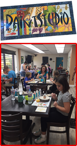 Alpha Fired Arts - Paint Your Own Pottery & Parties